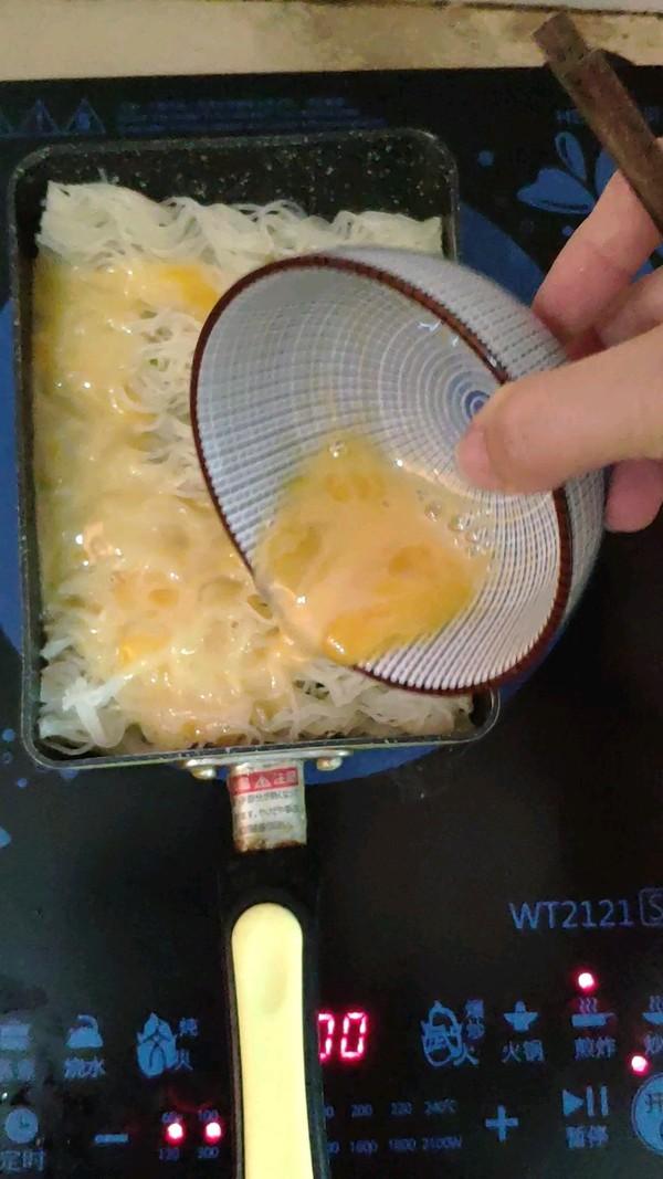 鸡蛋煎米粉的做法图解