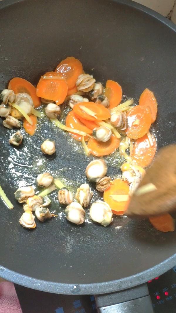 荷兰豆炒螺肉的做法图解