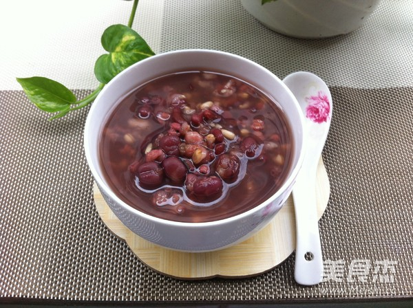 红豆薏米粥怎么炒