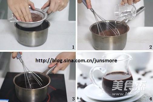 罗罗拿铁咖啡的步骤