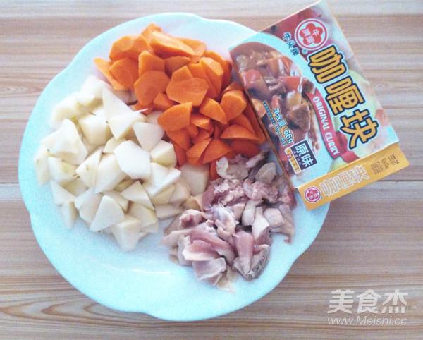 咖喱鸡块的做法大全