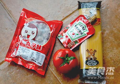 快手茄汁肉丸意粉的做法大全