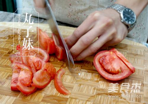 快手茄汁肉丸意粉的做法图解