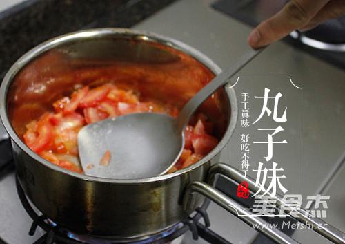 快手茄汁肉丸意粉的家常做法