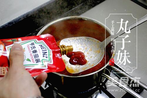 快手茄汁肉丸意粉的简单做法