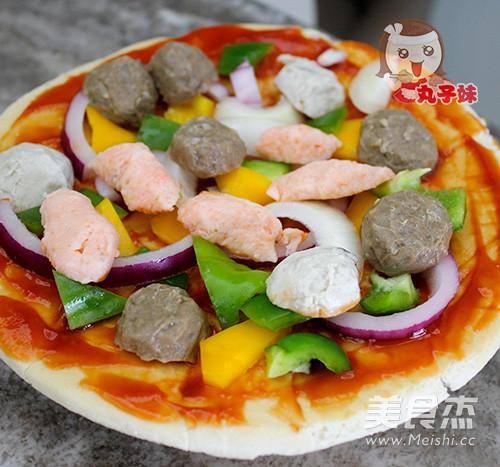 简易牛肉丸比萨的简单做法
