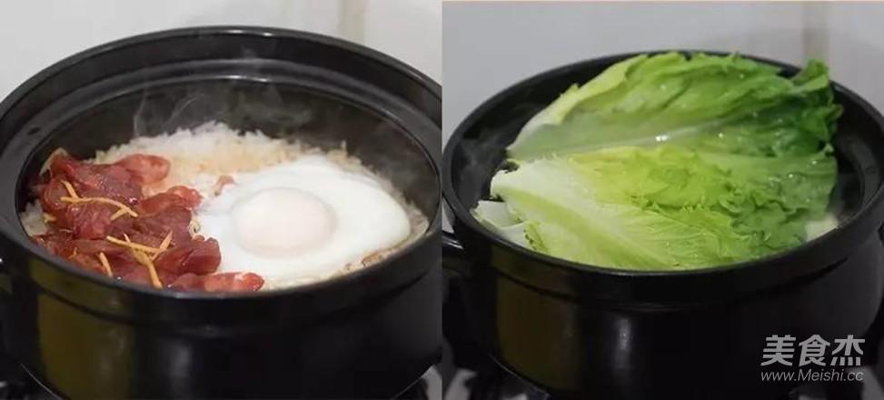 广式腊肠煲仔饭怎样做