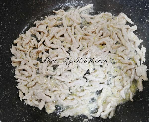 饭店级水准的:鱼香肉丝怎么煮