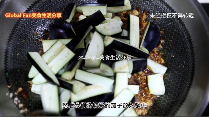 肉末酱焖茄子怎么做