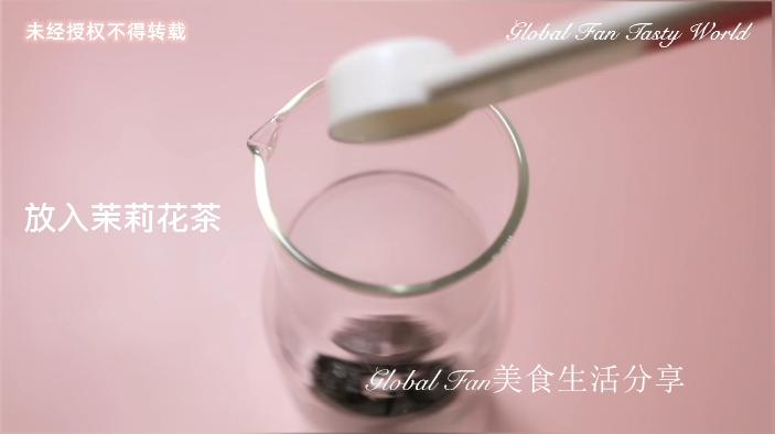 茉莉荔枝奶盖茶的做法大全