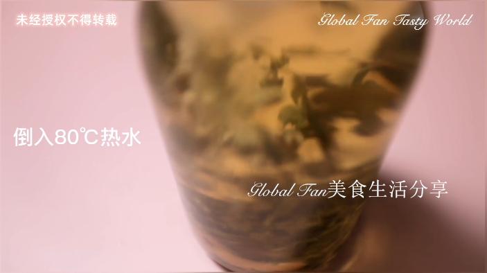 茉莉荔枝奶盖茶的做法图解