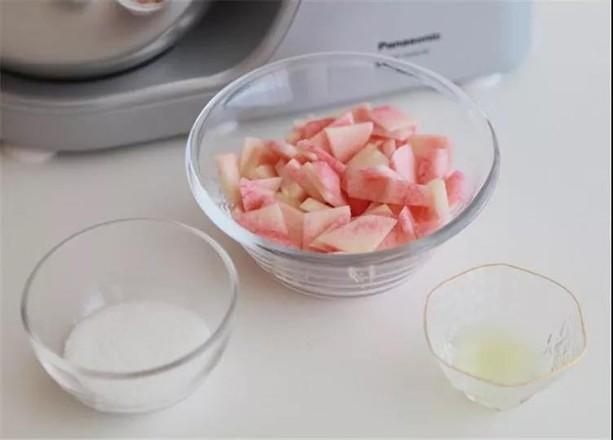桃子果酱磅蛋糕的做法大全