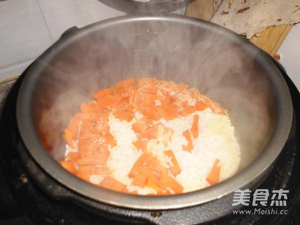 南瓜饭的简单做法