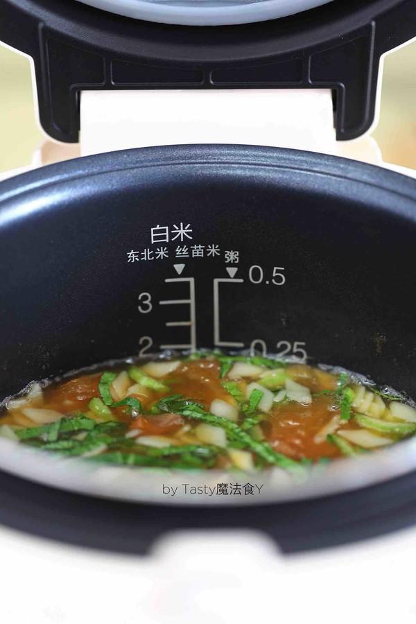 西红柿油菜面片汤怎么煮