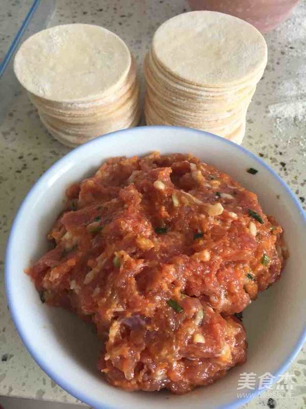 胡萝卜饺子的简单做法