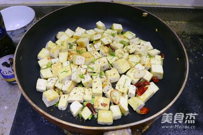 橄榄油孜然黄金豆腐怎样煸