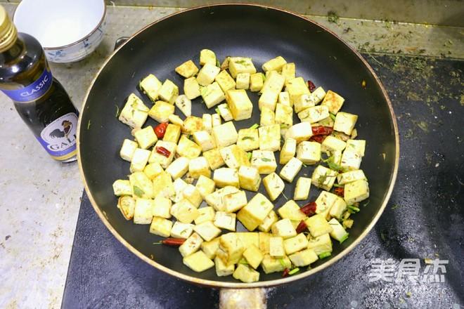 橄榄油孜然黄金豆腐怎样做