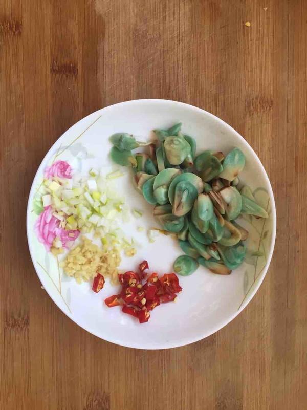 腊八蒜杏鲍菇的做法图解