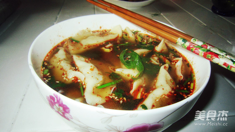 酸汤饺子怎么炒