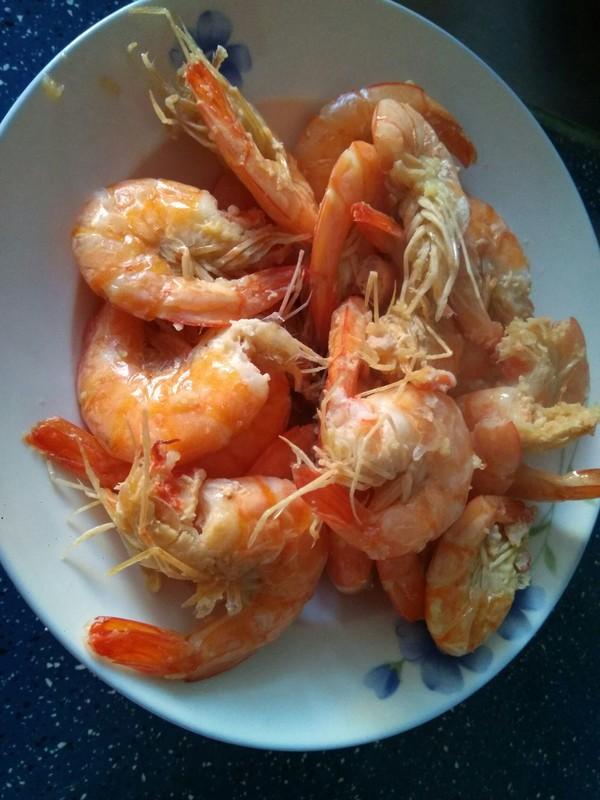 蒜香油焖虾的简单做法