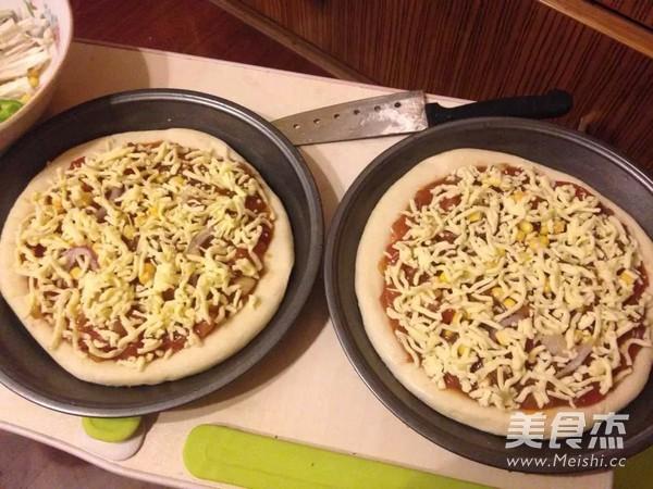 培根披萨的家常做法