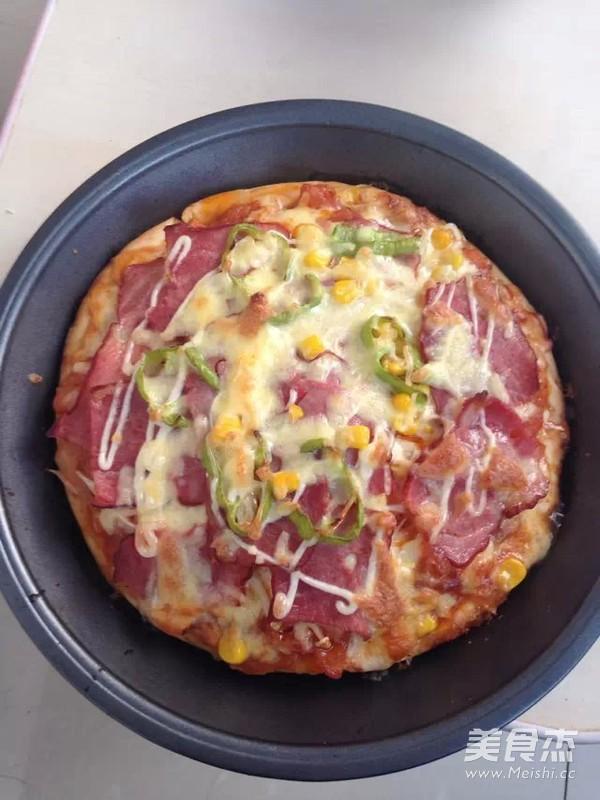 培根披萨怎么炒