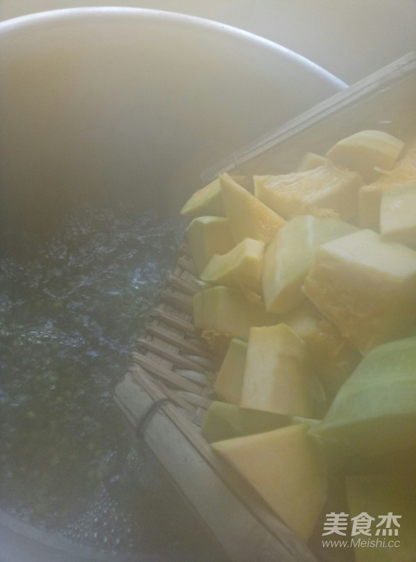 绿豆南瓜汤的简单做法