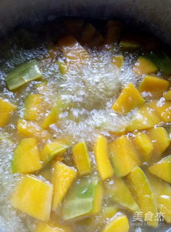 绿豆南瓜汤怎么吃