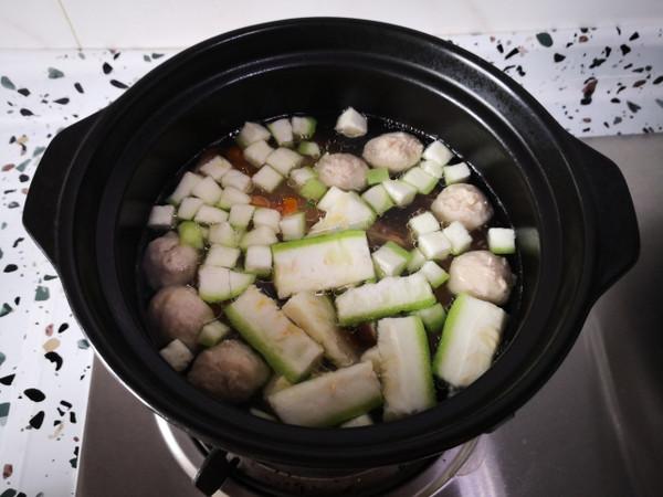鲜虾肉丸汤怎么吃
