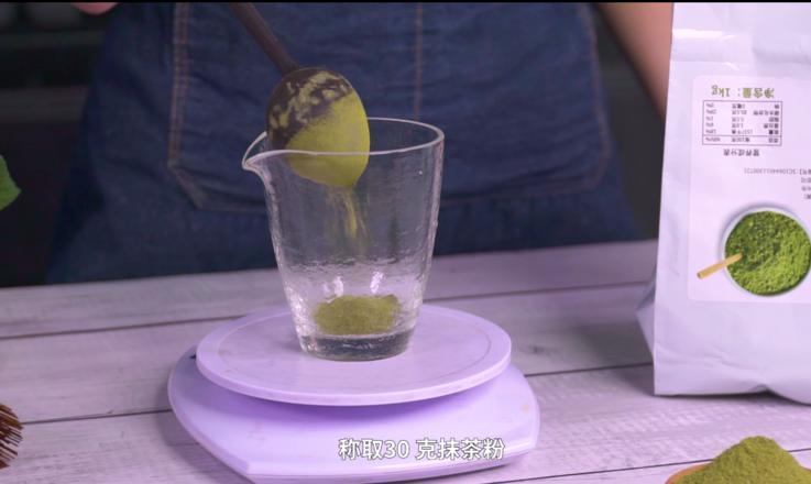 冬季热饮:奥利奥抹茶拿铁的做法的家常做法