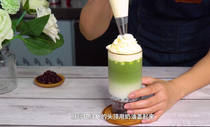 冬季热饮:奥利奥抹茶拿铁的做法怎么炒