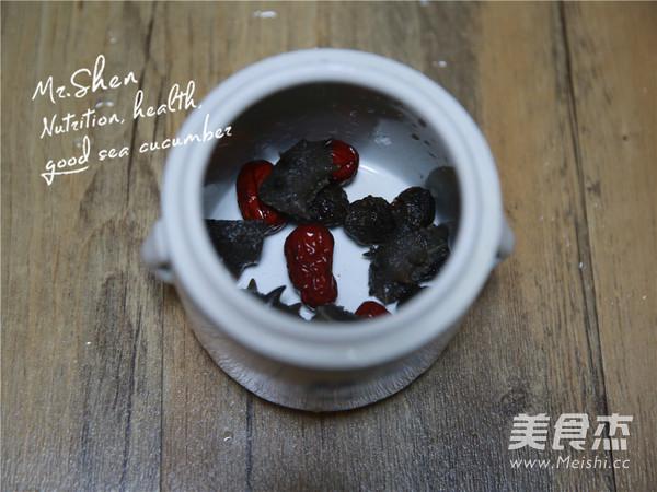 红枣冰糖炖海参的家常做法