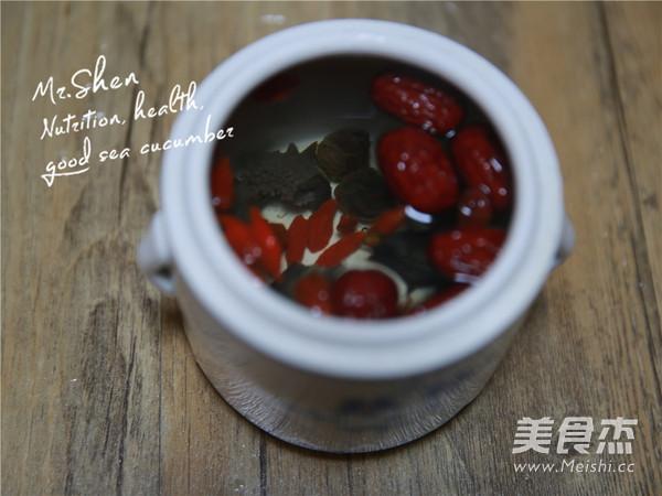 红枣冰糖炖海参的简单做法