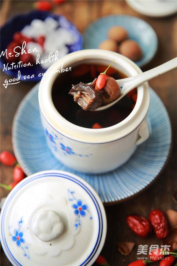 红枣冰糖炖海参怎么煮