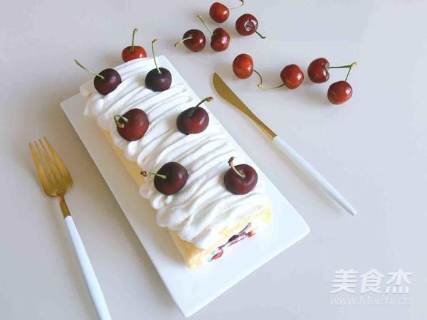 樱桃蛋糕卷的做法大全