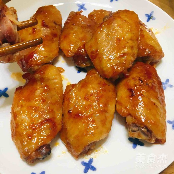 好吃到飞起的香烤鸡翅怎么煮