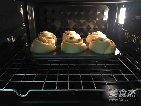 椰蓉葡萄干面包卷的制作方法