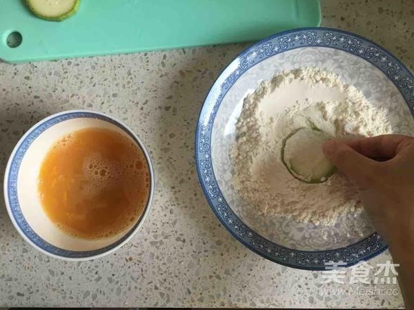 韩式香煎西葫芦的简单做法