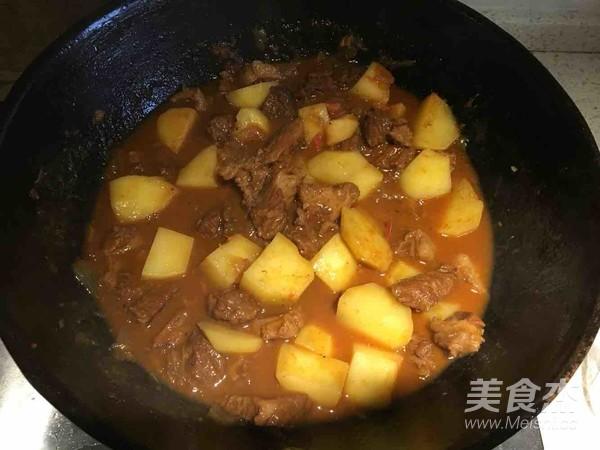 土豆炖牛肉怎样做