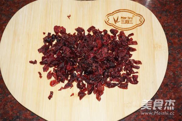 蔓越莓酥条的简单做法