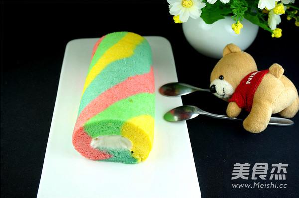 彩虹蛋糕卷怎样做