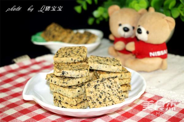 黑芝麻海苔饼干怎样做