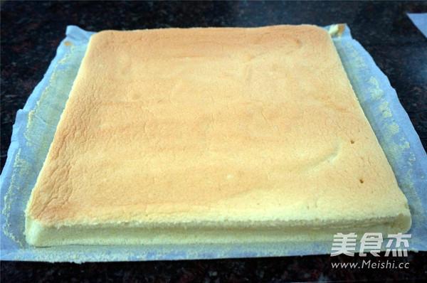 虎皮蛋糕卷的制作