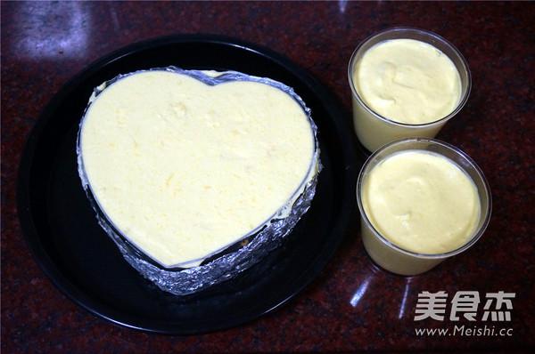 芒果芝士冻饼的制作