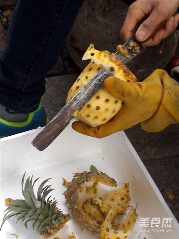 菠萝果酱的做法大全