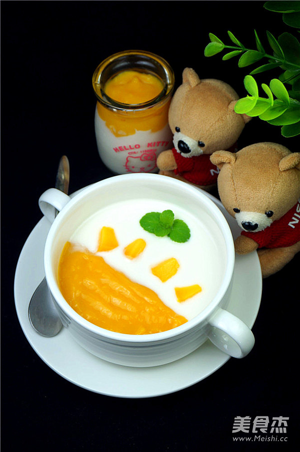芒果酸奶怎样煸