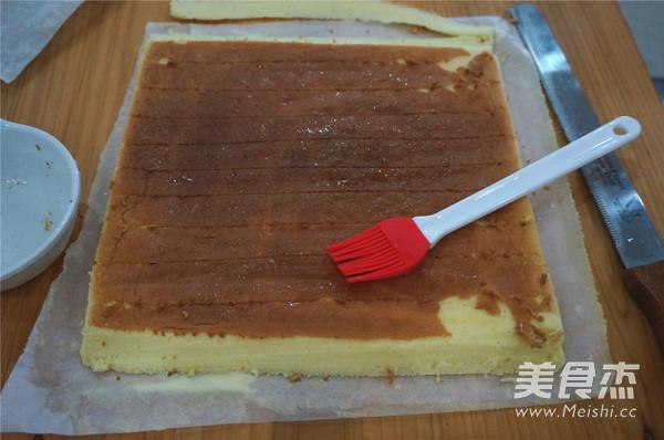 奶油蛋糕卷怎么煸