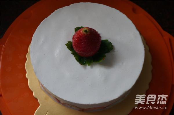 香梨水果慕斯蛋糕的制作