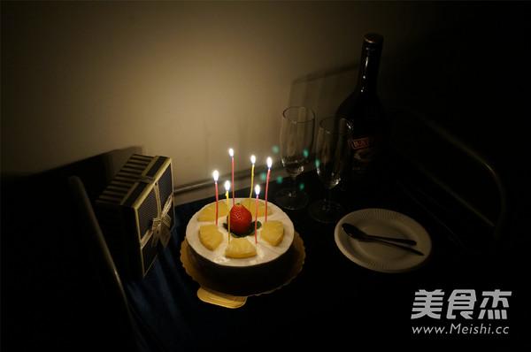 香梨水果慕斯蛋糕的做法大全