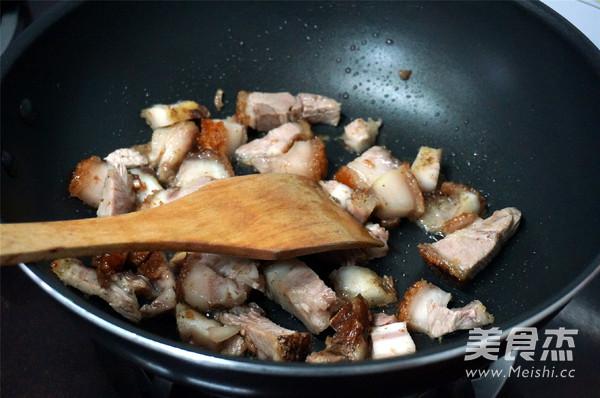 烧肉香芋煲的简单做法